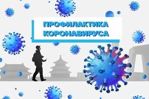 Рекомендации гражданам: профилактика коронавируса рисунок